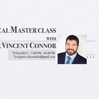 Vocal Master Class with Dr Vincent Connor