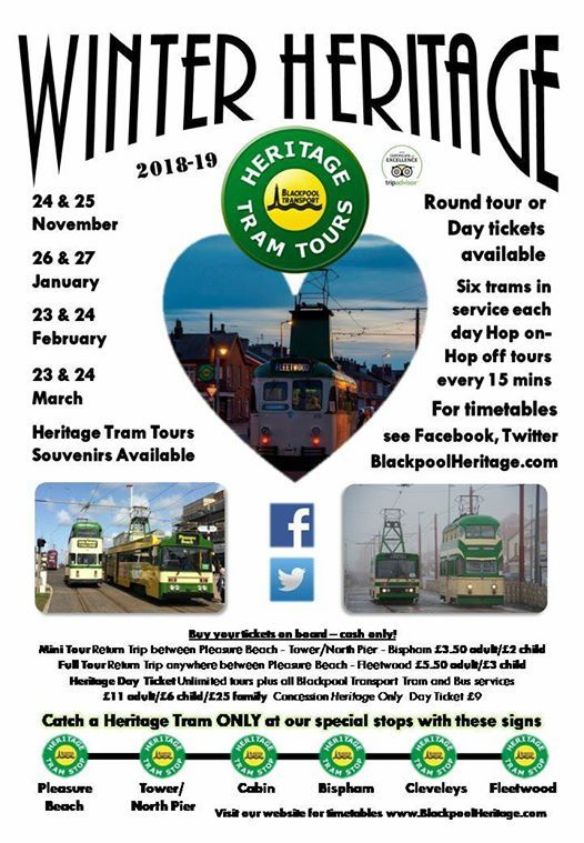 Winter Heritage Tram Tours - Jan 2019