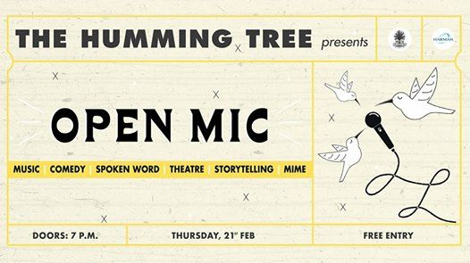 Open Mic Night at The Humming Tree