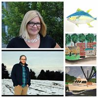First Friday featuring Artist Laurie Mendenhall &amp Music by Mark Wingerter