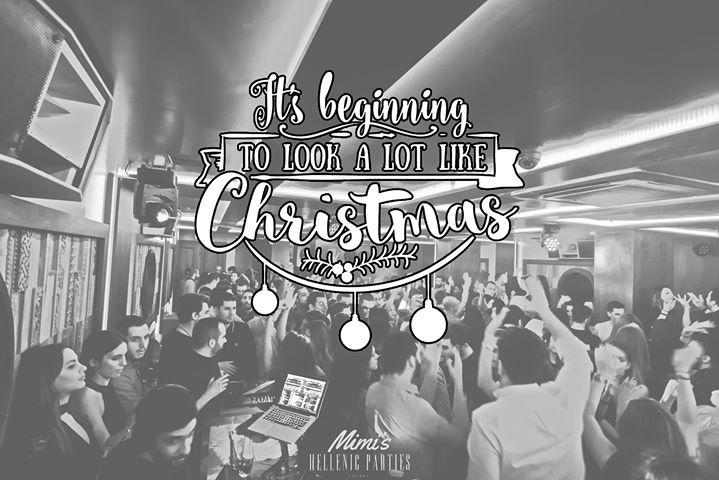 Christmas Party this Saturday at Mimis