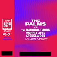The Palms The National Parks Warbly Jets Stokeswood