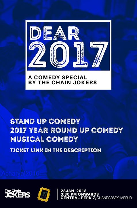 Dear 2017  A Stand Up Comedy Special Show