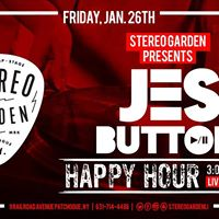 DJ Jes Button at Stereo Garden