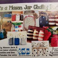 Its a Mason Jar Chalky Workshop