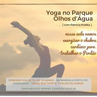 Yoga no Parque Olhos dgua