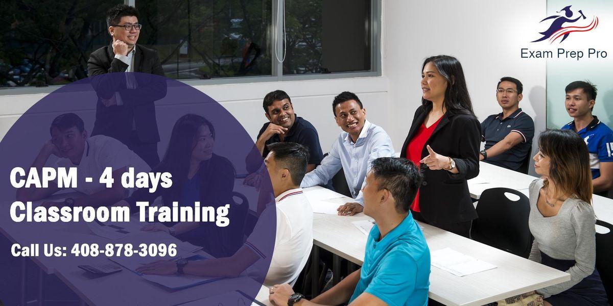 CAPM - 4 days Classroom Training  in CalgaryAB
