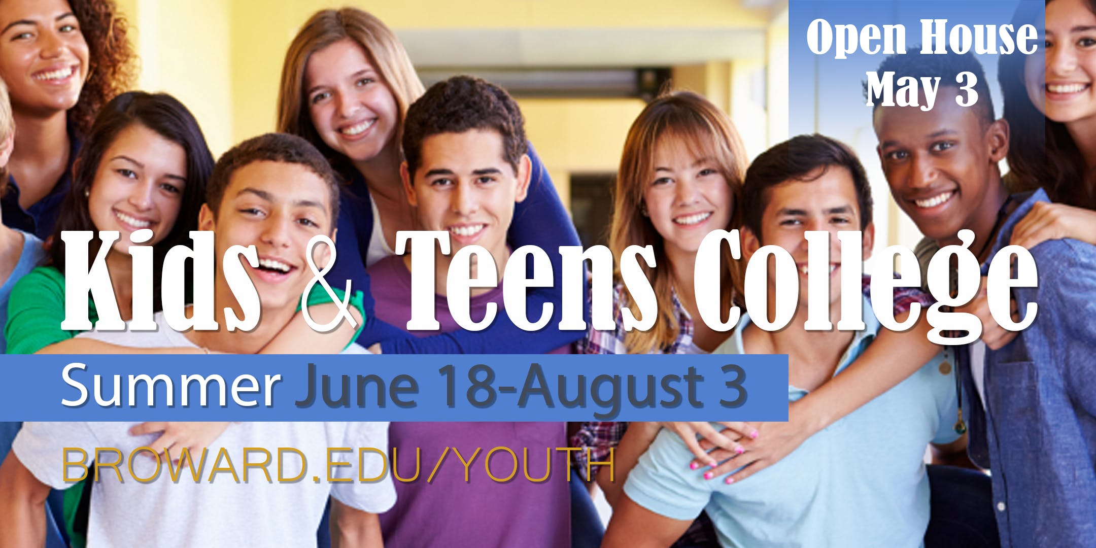 open house 2018 kids and teens college broward college
