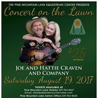 Joe &amp Hattie Craven Trio at The Stables  Groveland CA