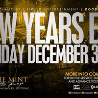 New YEARS EVE at the MINT in Scottsdale