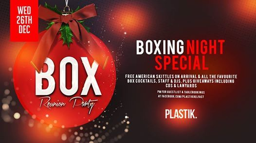 BOXing Night Special  BOX Reunion Party