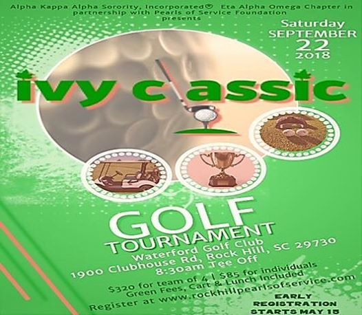 2nd Annual Ivy Classic Golf Tournament