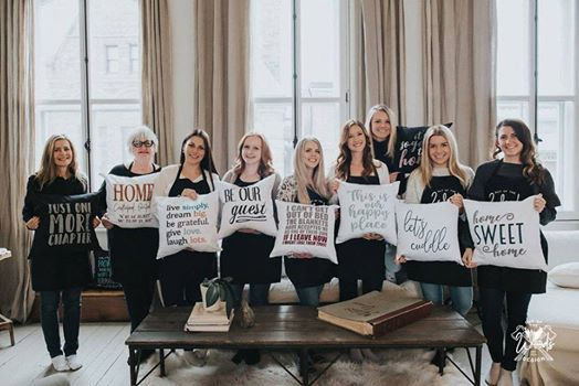 Private - Maryses Sign and Pillow Painting Party - Casselman