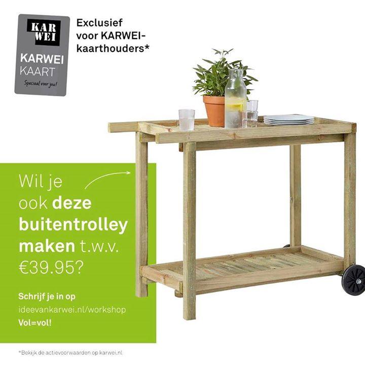 Gratis Karwei Workshop Buitentrolley Maken At Karwei Den Haag