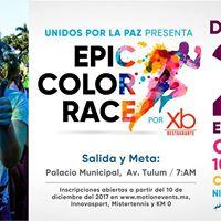 Carrera Unidos por la Paz  Epic Color Race