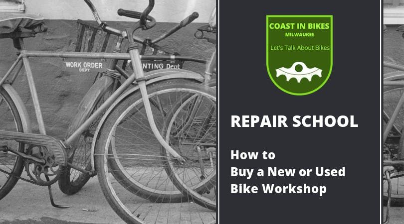 How to Buy a New or Used Bike Workshop at Coast In Bikes