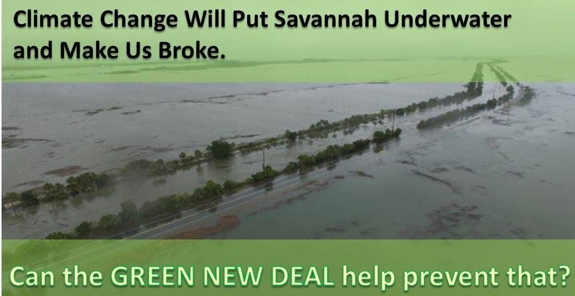 Climate Change Will Put Savannah Underwater. Can the Green New Deal help