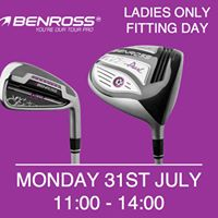 Benross Ladies Only Fitting Event