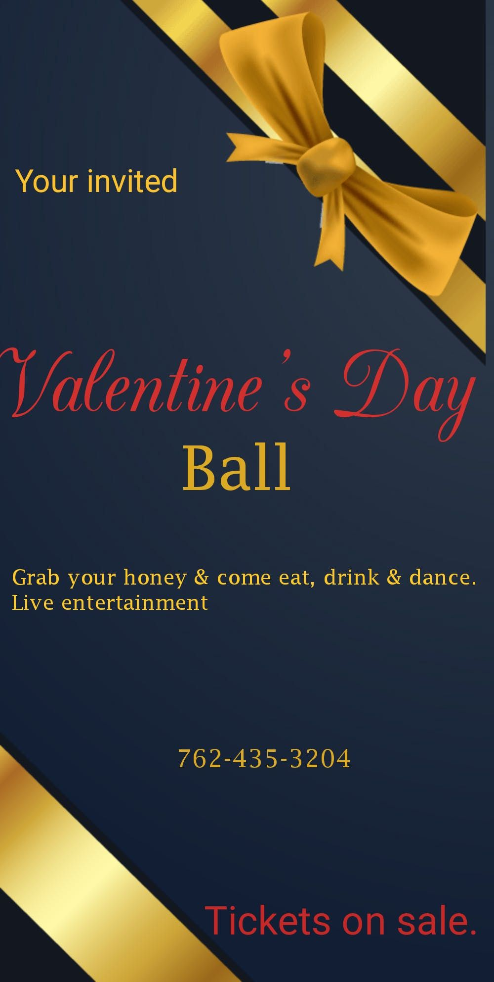 A Royal Valentines Day Ball