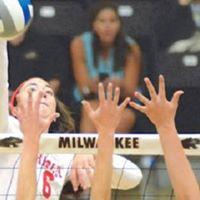 Bradley Womens Volleyball Game