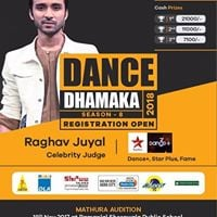 Dance Dhamaka Competiton 2018 Agra Audition- Raghav Juyal