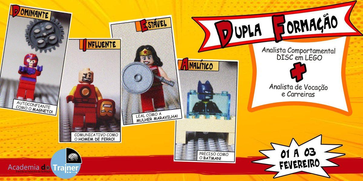 Analista Comportamental DISC em LEGO  Analista de Vocao e Carreiras