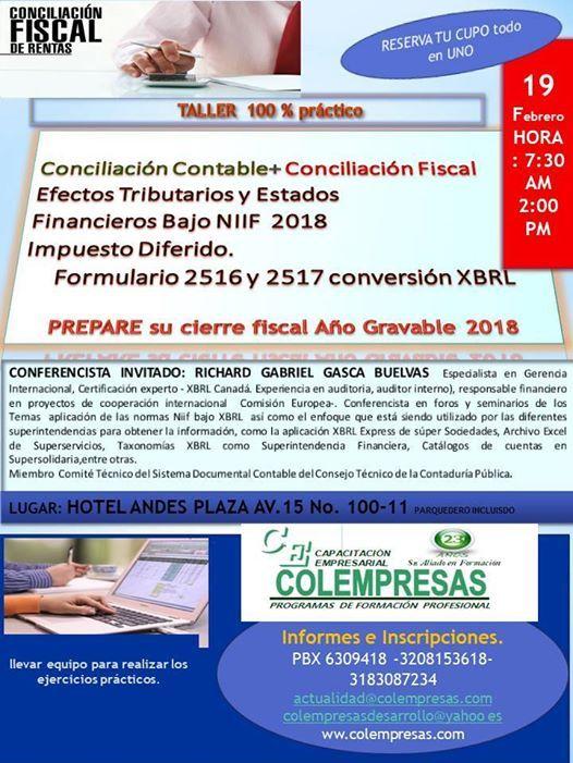Conciliacin CntableConciliacin Fiscal bajo Niif