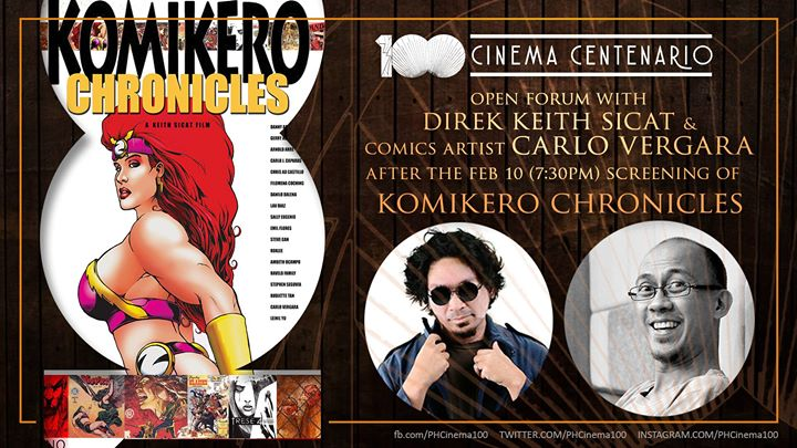 Komikero Chronicles Screening With Keith Sicat And Carlo Vergara
