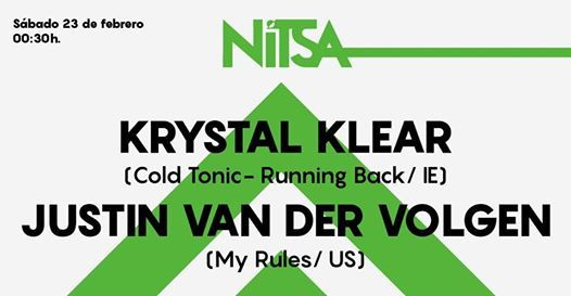 Nitsa Club - Krystal Klear  Justin Van Der Volgen