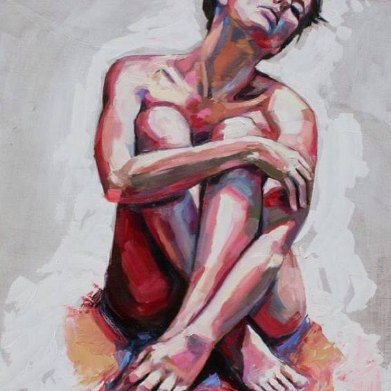 Zachytte Krasu Nahoty Kresba A Malba Aktu S Modelkou At Art