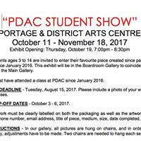 PDAC Student Show Entry Deadline