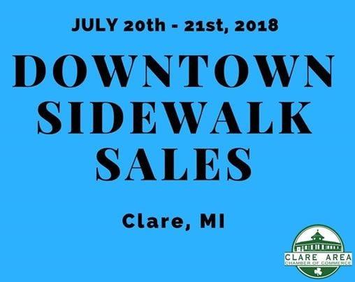 Clares Downtown Sidewalk Sales