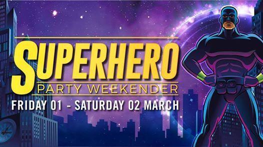 Superhero Party Weekender