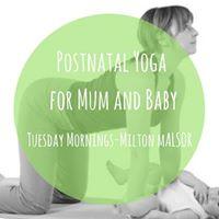 Postnatal Yoga for Mum &amp Baby