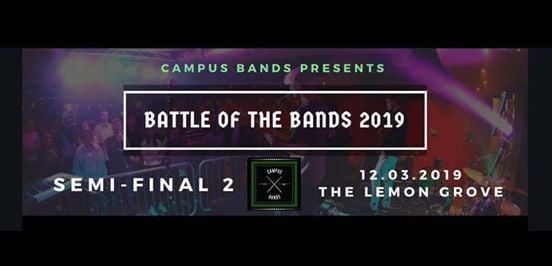 Battle of the Bands Semi-Final 2