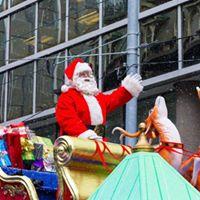 Rotary Burlington Lakeshore Santa Parade Float