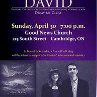 Dan and Melissa David in Concert