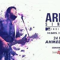 arijit singh come to Ahmedabad