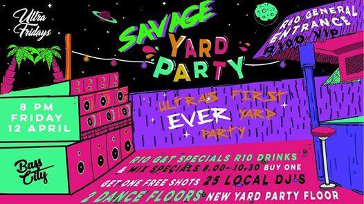 Issa Yard Party at Ultra  Fri 12 April