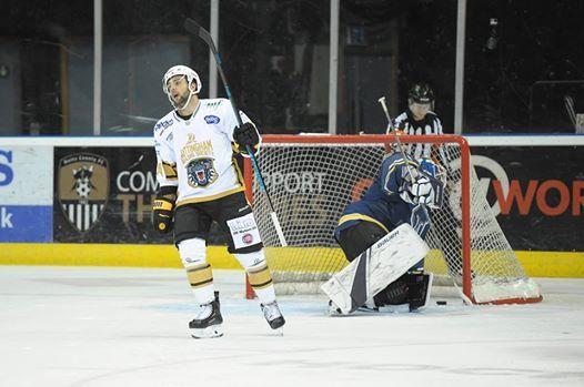 The Nottingham Panthers v Sheffield Steelers Ice Hockey