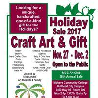 MCC BHC Holiday Art Fine Craft &amp Gift Sale
