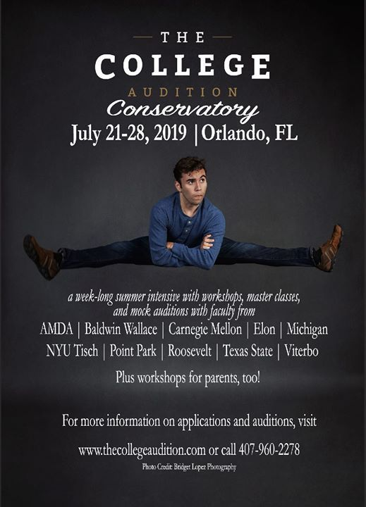 The College Audition Conservatory at Rosen Centre, Windermere