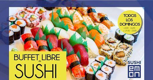 Pleasant Buffet Libre De Sushi Todos Los Domingos At Sushiemon Home Interior And Landscaping Spoatsignezvosmurscom