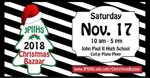 Jpiihs Christmas Bazaar