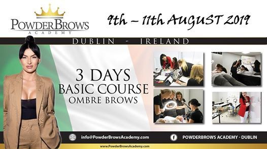3 Days Basic Course OMBRE BROWS