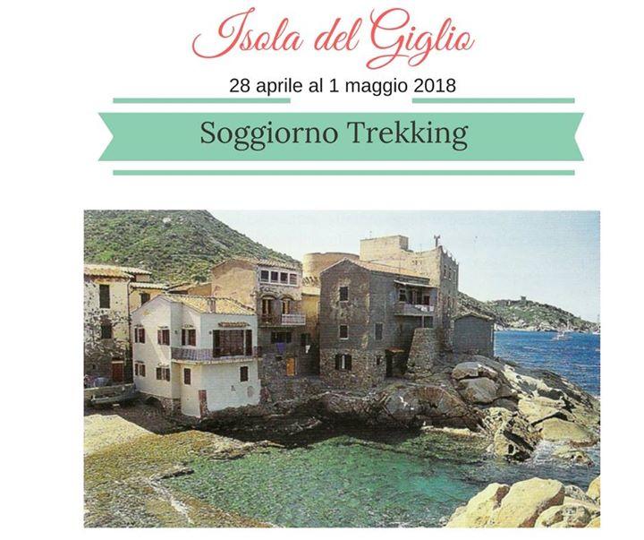 Soggiorno Trekking Isola del Giglio at Partenza da Porto Santo Stefano