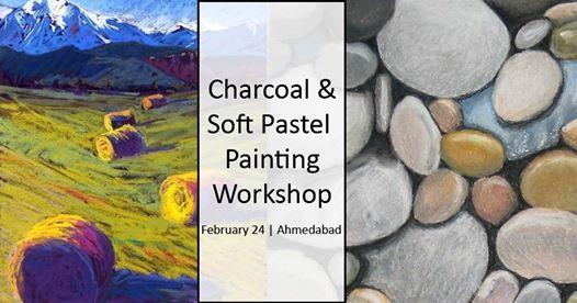 Charcoal & Soft Pastel Painting Workshop