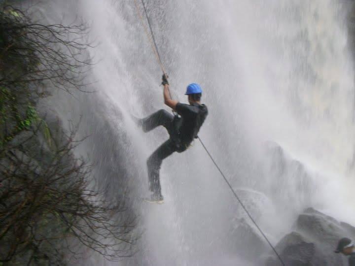 Lonavala Waterfall Rappelling & Flying Fox 25 June by Explorers