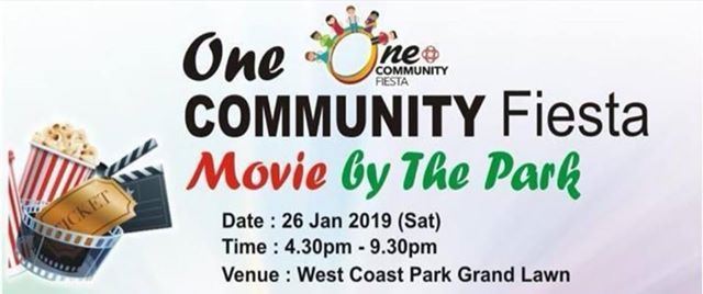 One Community Fiesta-Movie By The Park