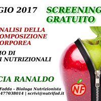 Farmacia Ranaldo- Analisi gratuita della composizione corporea